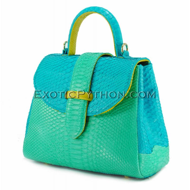 Python handbag mixed colors BG-303