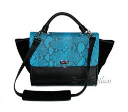 Python bag blue motive & black BG-1