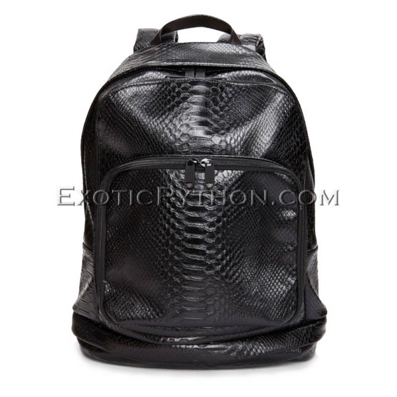 Python leather backpack BG-250