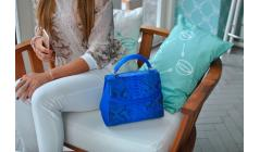 How to care for snakeskin bag