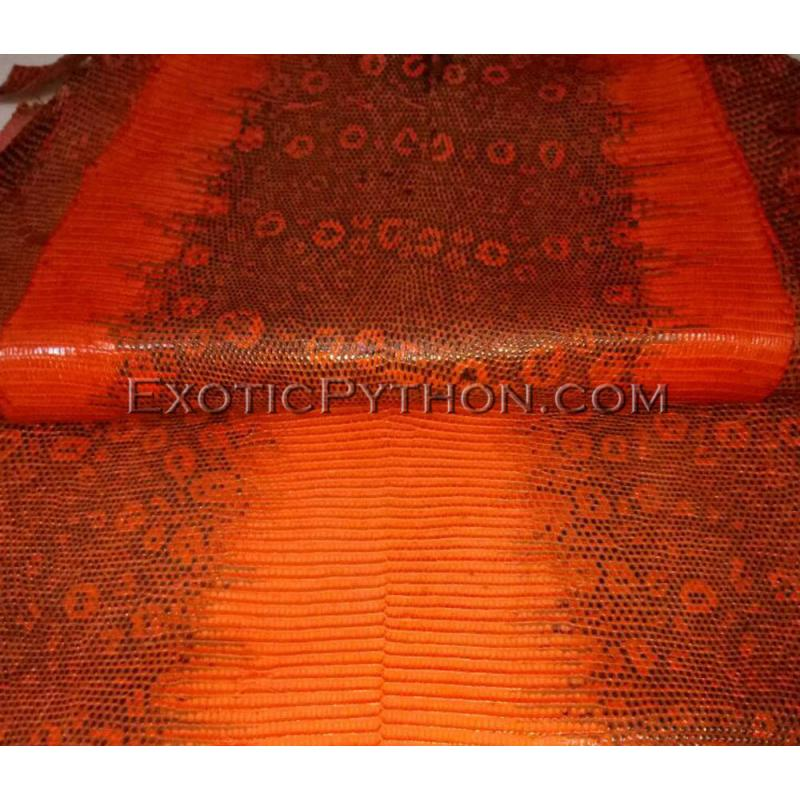Lizard skin orange color SK-21
