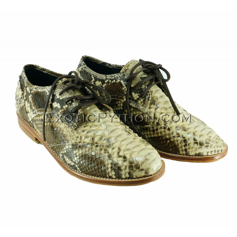 Python leather boots SH-115
