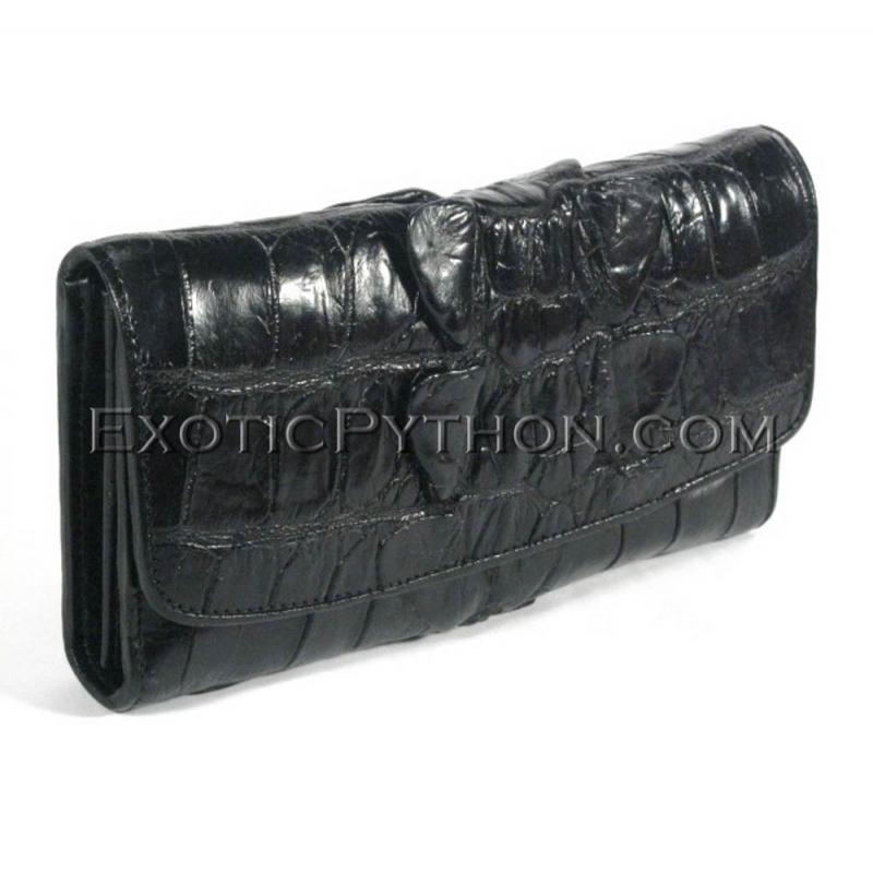 Crocodile leather wallet WA-109