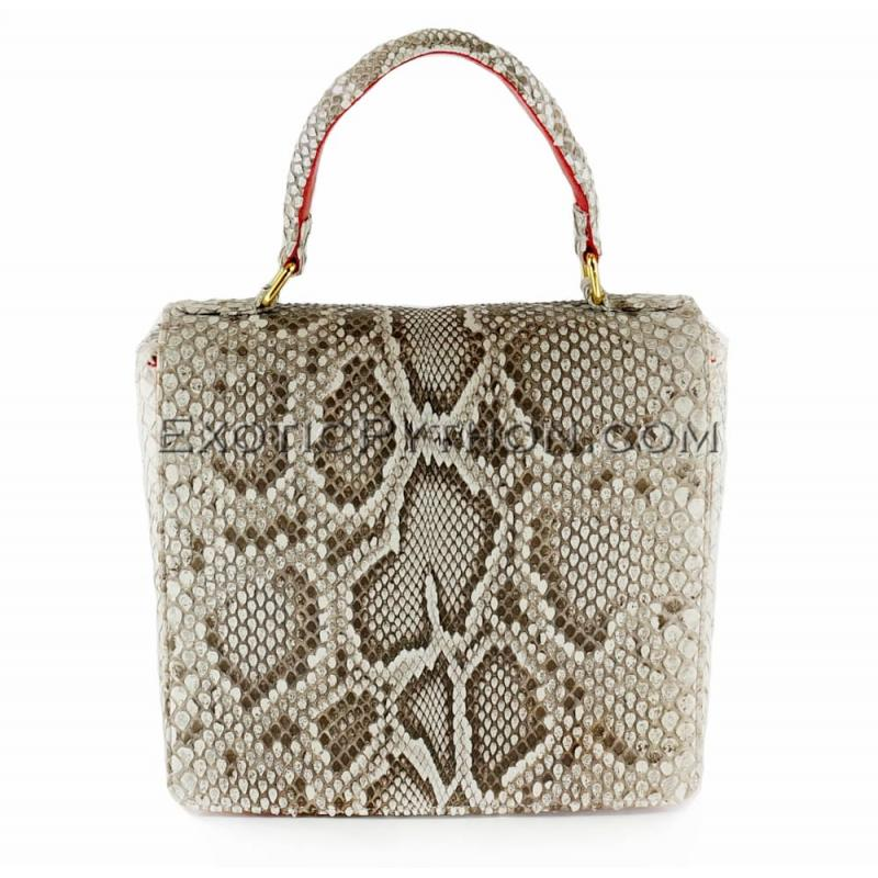Python handbag natural motive BG-227