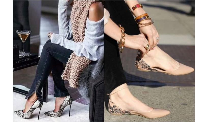 Snakeskin shoes - the best choice of leather shoes