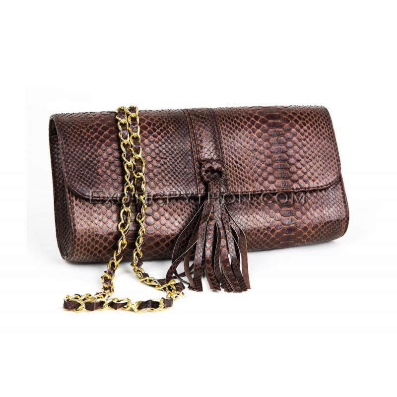 Python clutch bag CL-01