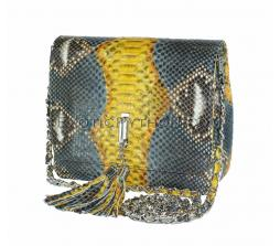 Multicolor snakeskin purse CL-110