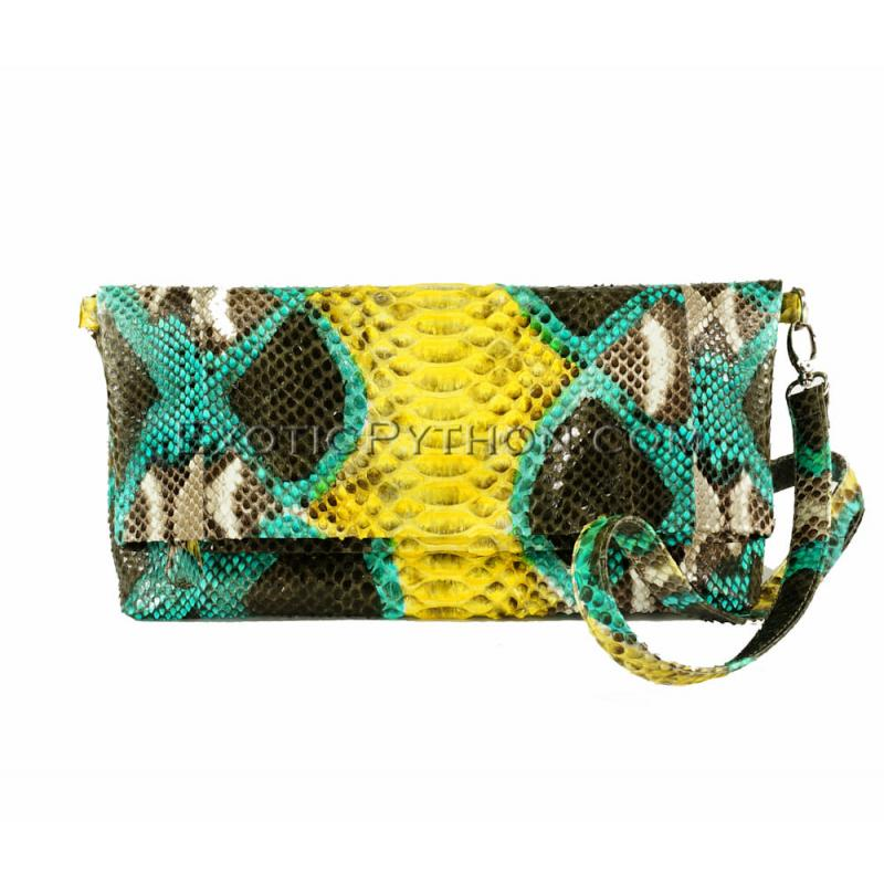 Python clutch bag CL-135