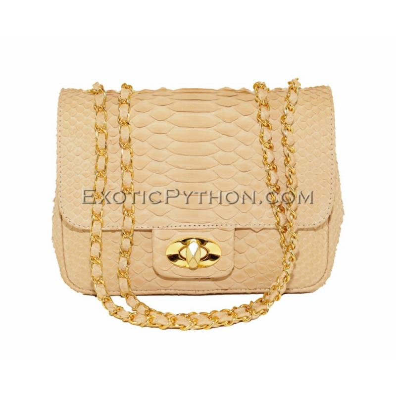 Snakeskin purse CL-34