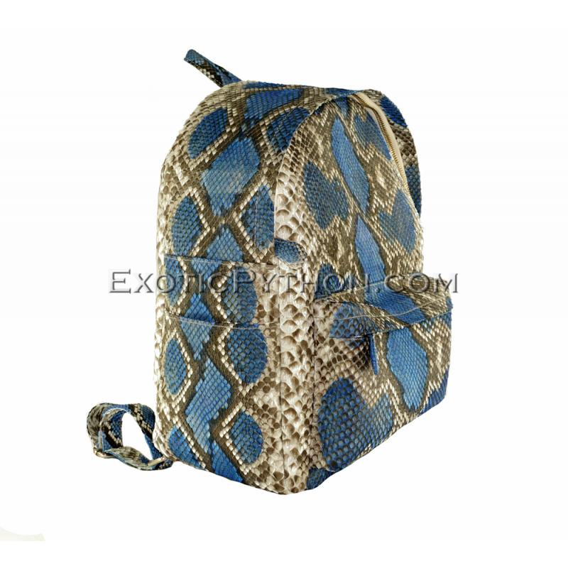 Snakeskin backpack multy color  BG-229