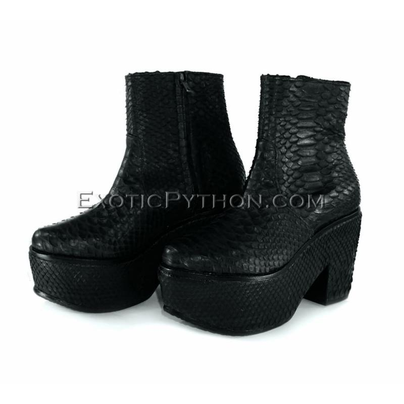 Snakeskin shoes womens SH-112